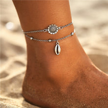 Load image into Gallery viewer, 17KM Vintage Bracelet On Leg Fashion Animal Elephant Anklets For Women Multilayes Adjustable Anklet 2020 Foot Beach Jewelry Gift