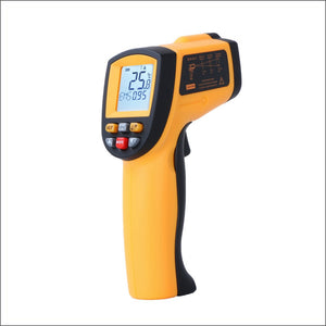 RZ Infrared Thermometer Non-Contact Temperature Meter Gun Handheld Digital LCD Industrial Outdoor Laser Pyrometer IR Thermometer
