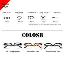 Load image into Gallery viewer, '-1 -1.5 -2 -2.5 -3 -3.5 -4 -4.5 -5.0 -5.5 -6.0   Classic Myopia Glasses Women Men Optical Glasses metal  Eyewear Frame