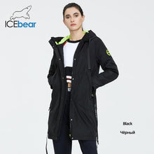 Load image into Gallery viewer, ICEbear 2020 Women spring jacket women coat with a hood casual wear quality coats brand clothing GWC20035I