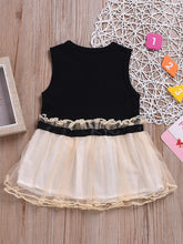 Load image into Gallery viewer, Bow Mesh Sleeveless Dress for Summer Infant Little Girl