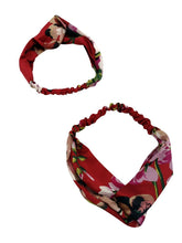 Load image into Gallery viewer, Mommy and Me Floral Headband Matching Wear