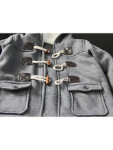 Load image into Gallery viewer, Winter Stylish Baby Toddler Boys Fleece Lining Hooded Coat