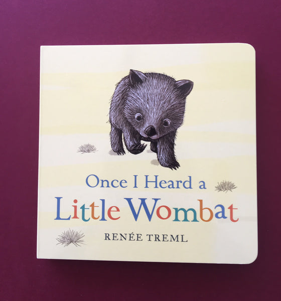 """Once I Heard A Little Wombat"" by Renee Treml"
