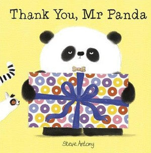 """Thank You, Mr Panda"" by Steve Antony"