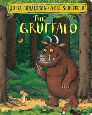 """The Gruffalo"" by Julia Donaldson and Axel Scheffler"