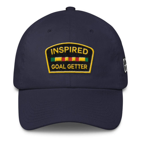 Inspired Goal Getter Dad Hat - Navy