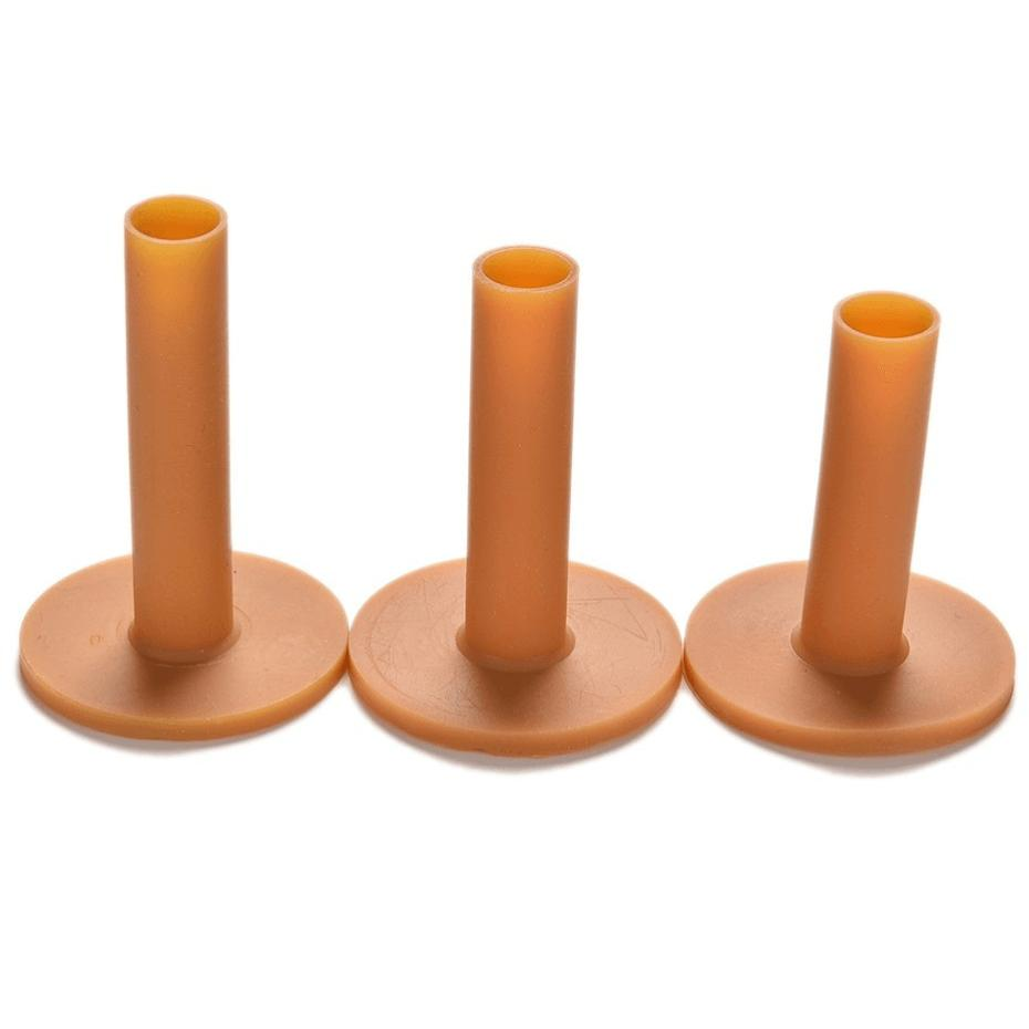 Rubber Golf Mat Tees (3 sizes included)
