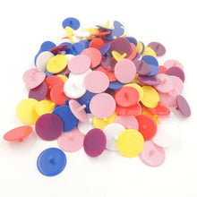 50 Transparent Plastic Ball Markers