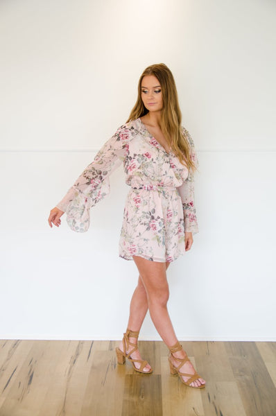 BY NICOLA | Meant For You Playsuit in Rose