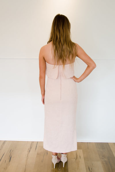 C/MEO COLLECTIVE | Love Like This Dress Blush