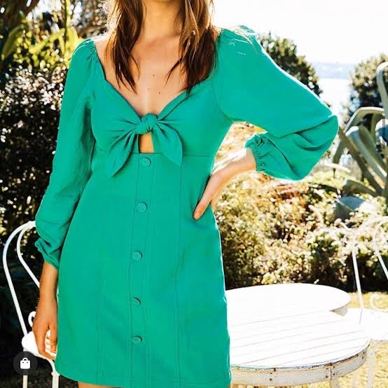 SHEIKE | Green With Envy Dress