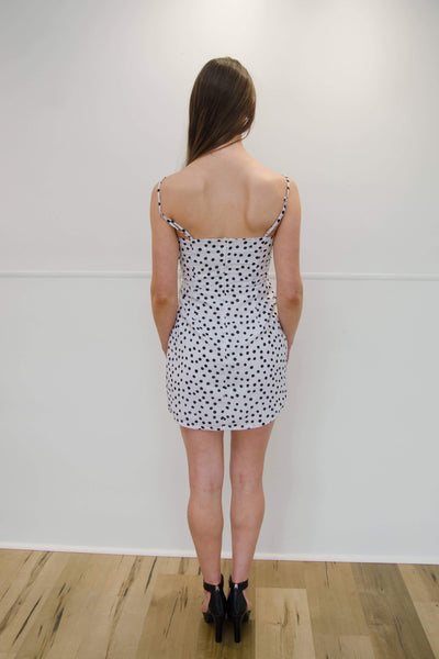 RUNAWAY THE LABEL | Spot On Tie Dress