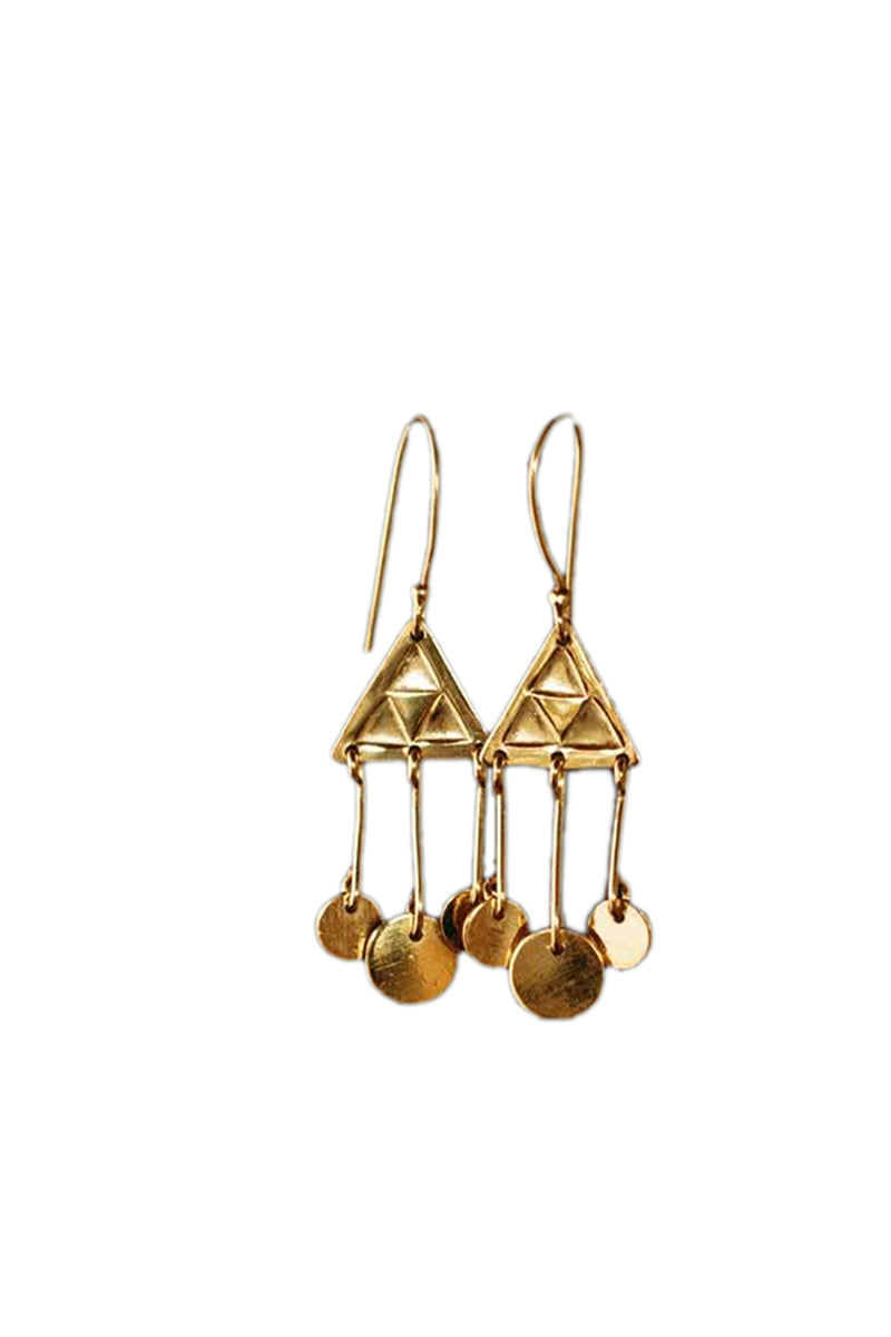 Jump - Bojangles Mini Earrings - Gold