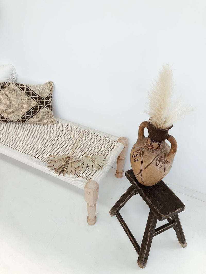 Furniture - Macrame Bench - Medium