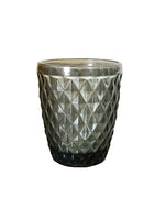 Zahara Tumbler Glasses - Grey - Set of 6