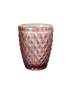 Zahara Tumbler Glasses - Pink - Set of 6