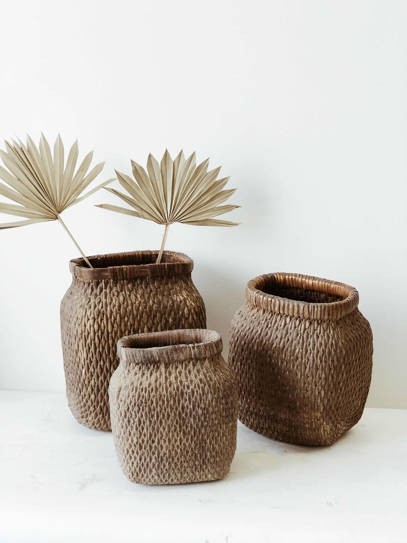 Chinese Willow Basket