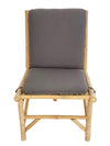Zaina - Bamboo Lounge Chair w/cushion