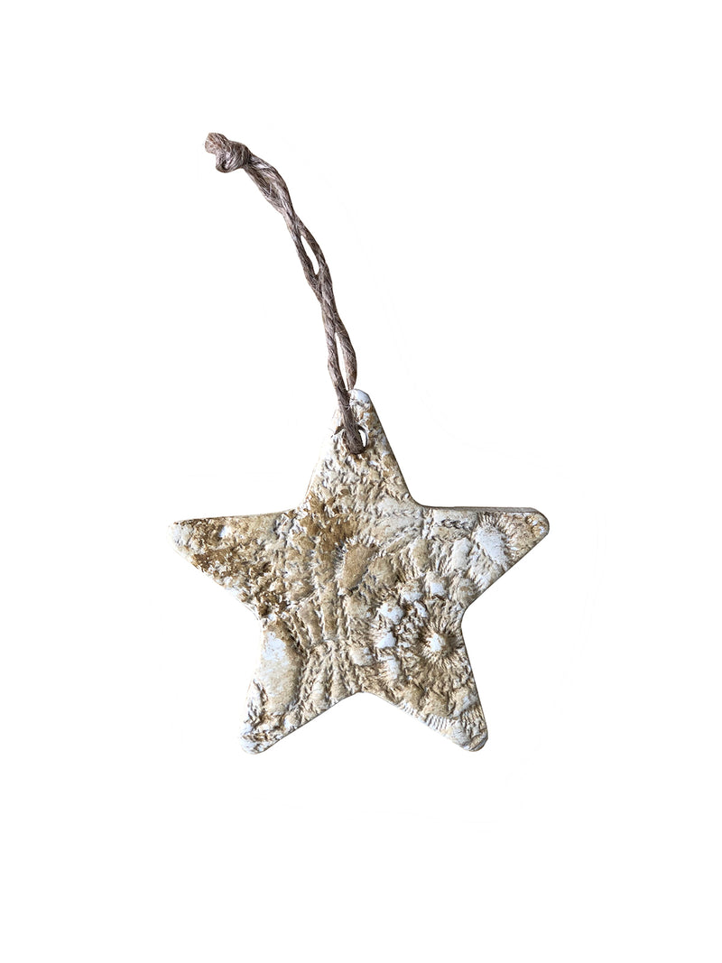 Christmas Decoration - Star - Gold