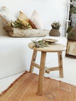 Elm Tea Table Round