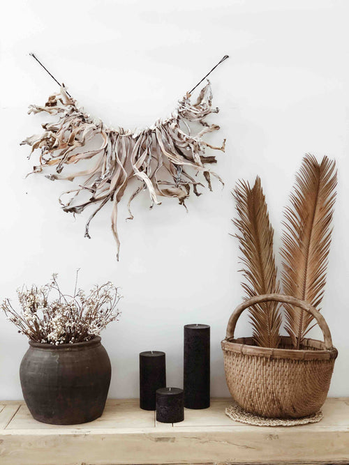 Cassava Wall Hanging - Natural