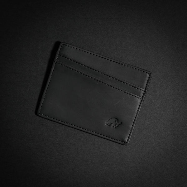 Bullstrap® Card Holder - Black Edition