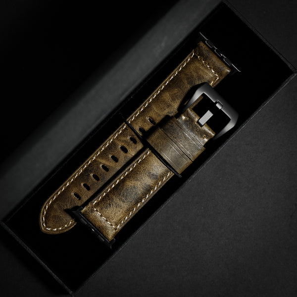Leather Apple Watch Strap - Vintage