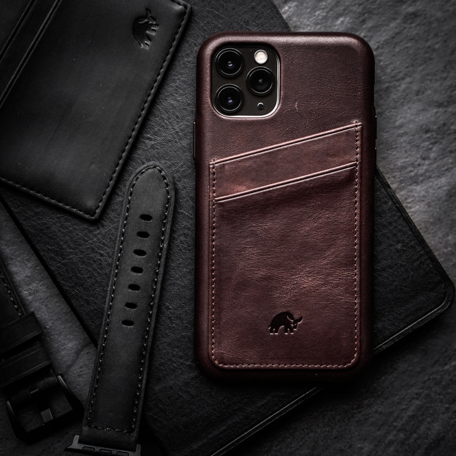PORTFOLIO iPhone Case - BOURBON