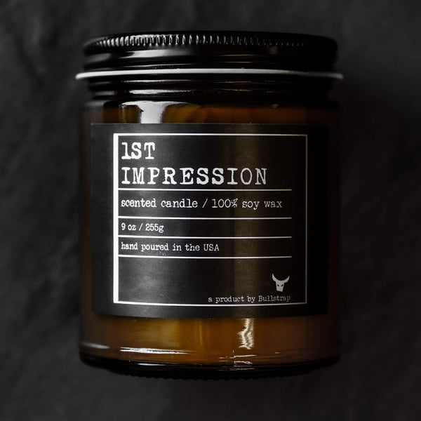 1st Impression Candle (9 Ounce) - BS Society Gift