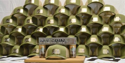 Milspin and Starbucks team up on Starbucks hats for the Armed Forces Network project