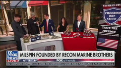 MILSPIN appearance on Fox and Friends