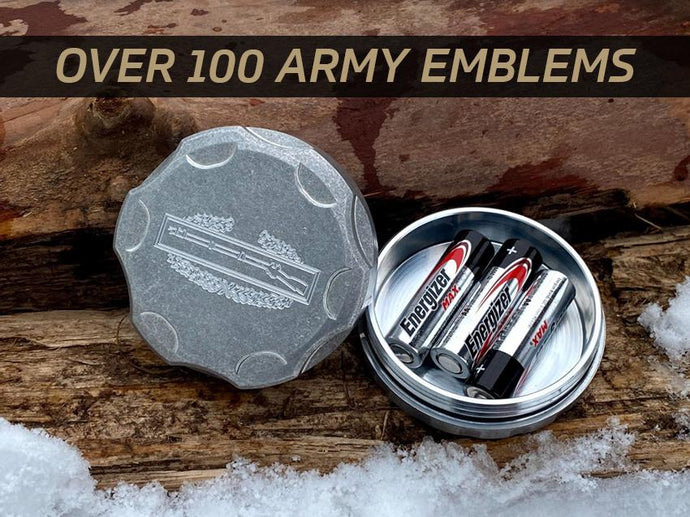 Milspin Custom ARMY All-Weather Canister
