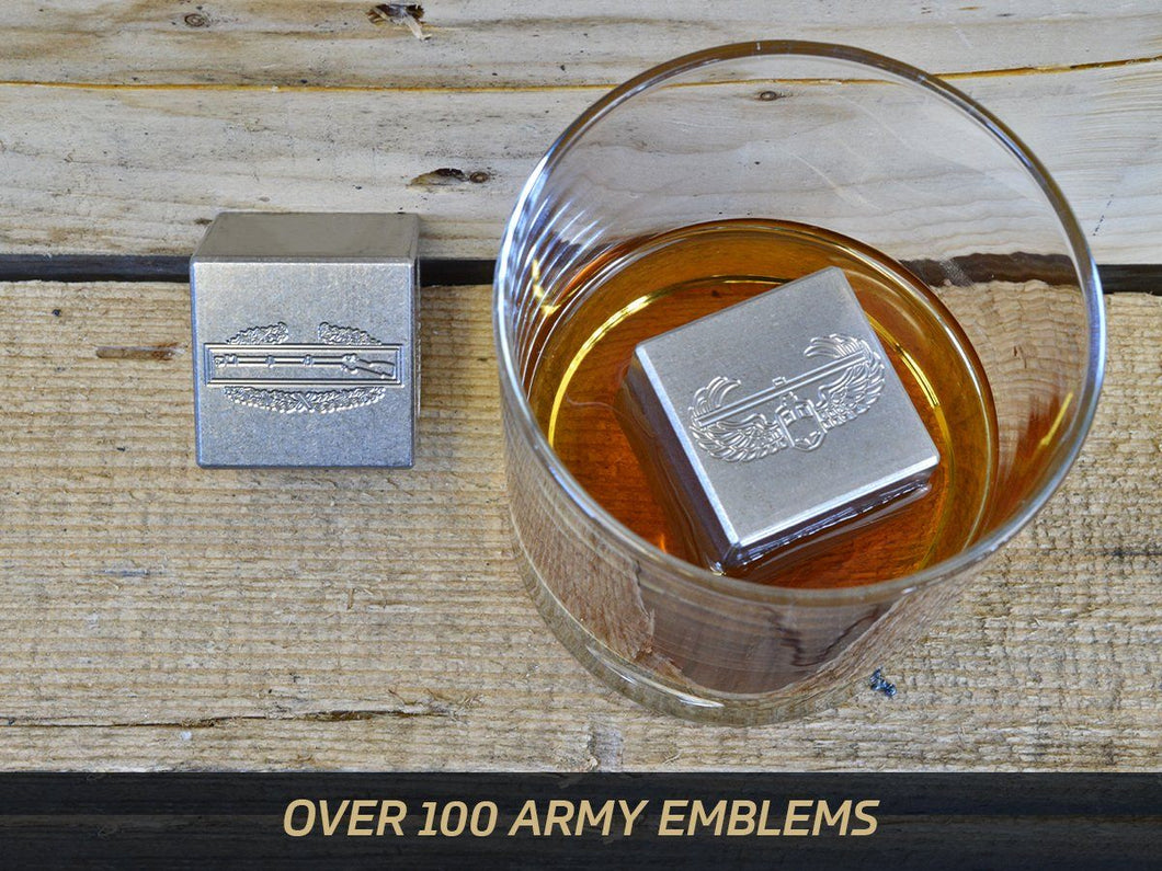Milspin custom engraved WHISKEY STONES