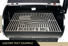 Milspin USA Flag Custom BBQ Grill Grate