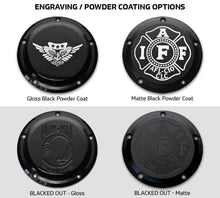 Custom Harley Davidson Derby Cover (All Emblems)
