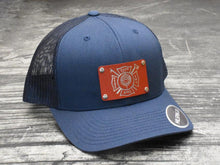 "Milspin ""137th ANG Fire Department"" Machined Metal Plate Hat"