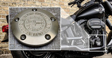 Milspin Custom Engraved Harley Davidson Points Cover