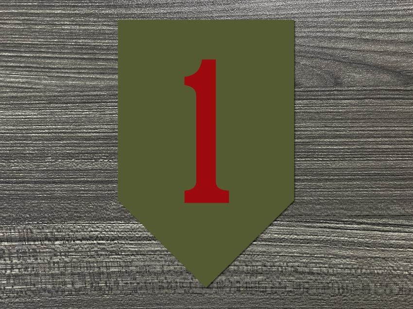1st Infantry Division Decal