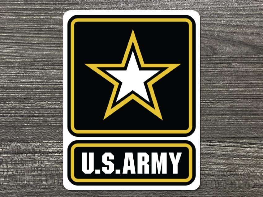 Army Logo Decal