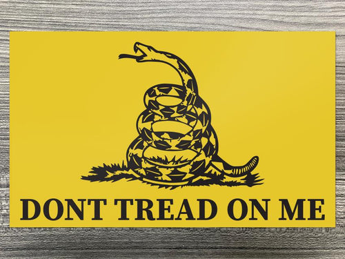 Don't Tread on Me Gadsden Flag Decal
