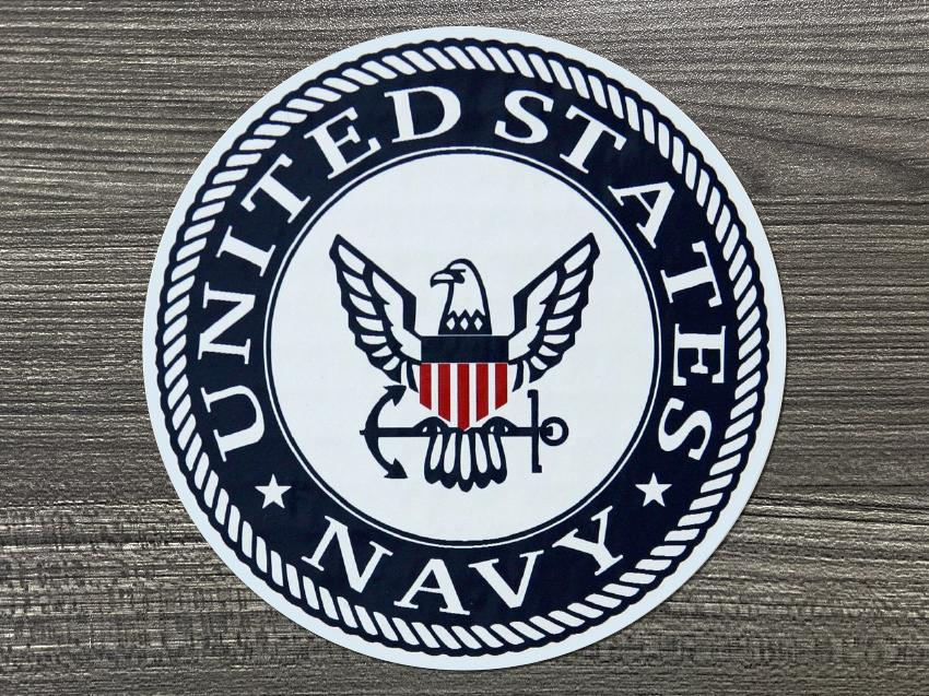 U.S Navy Logo Decal