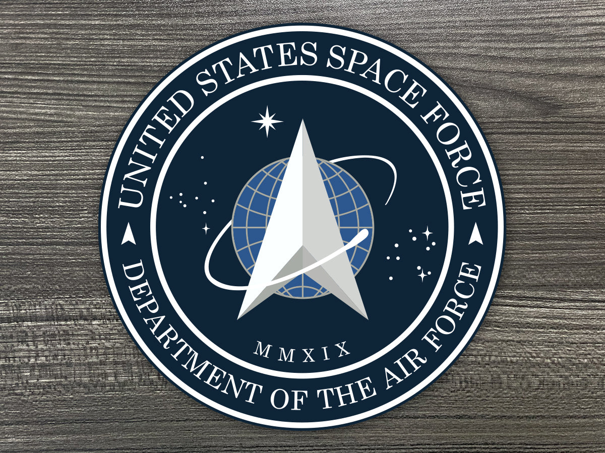 SPACE FORCE Decal