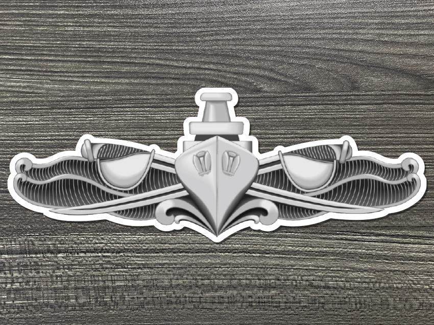 Surface Warfare Enlisted Badge Decal