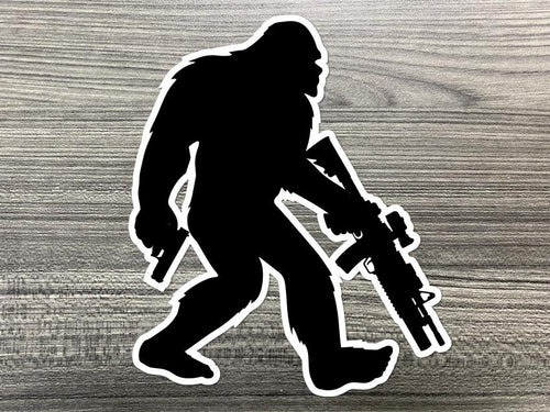 Tactical Sasquatch Decal