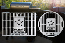 Milspin U.S. Army Custom Engraved Grill Grate