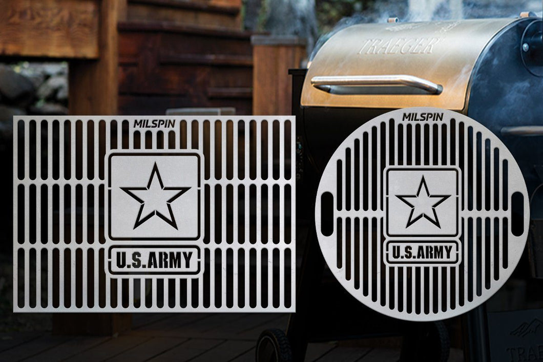 Milspin U.S. Army Custom Designed Grill Grate