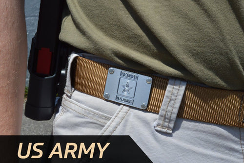 MILSPIN custom designed Cobra® EDC tactical Belt