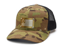 Betsy Ross Flag (Titan) Steel Plated Snap-Back