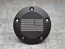 Harley Davidson American Flag custom insignia points cover